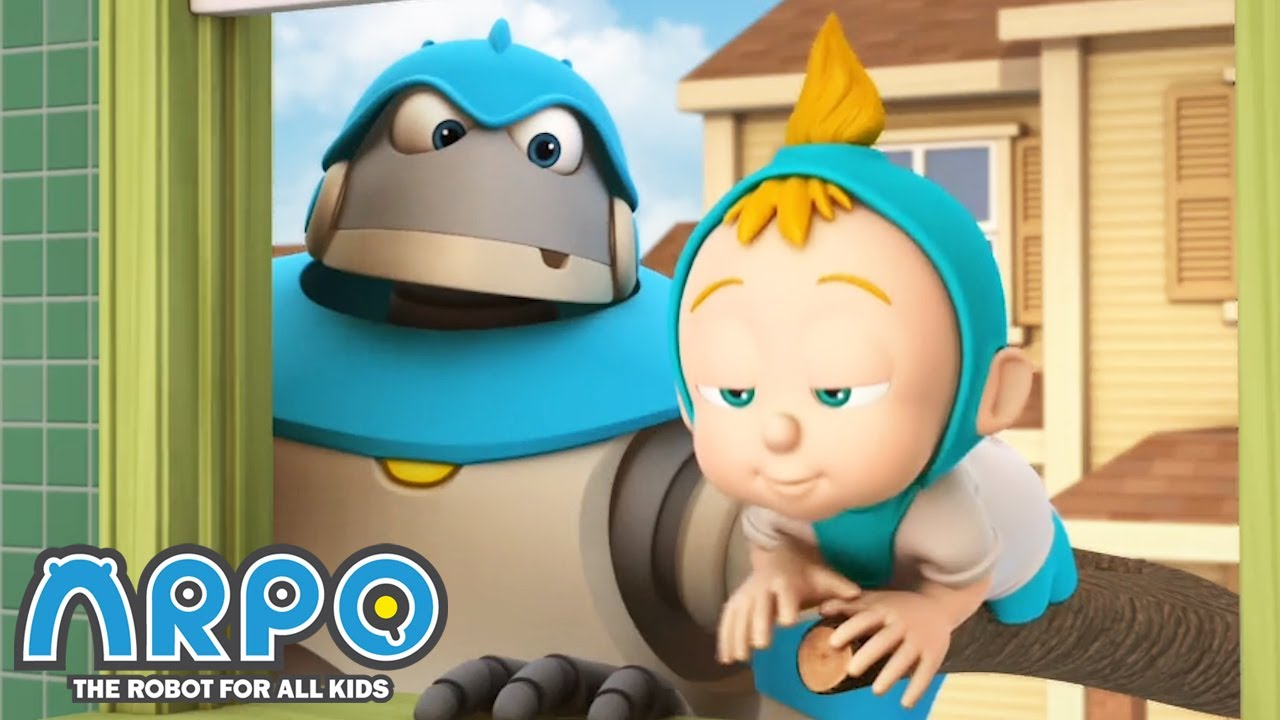 Arpo the Robot | Sleep Baby Sleep | NEW VIDEO | Funny Cartoons for Kids | Arpo and Daniel