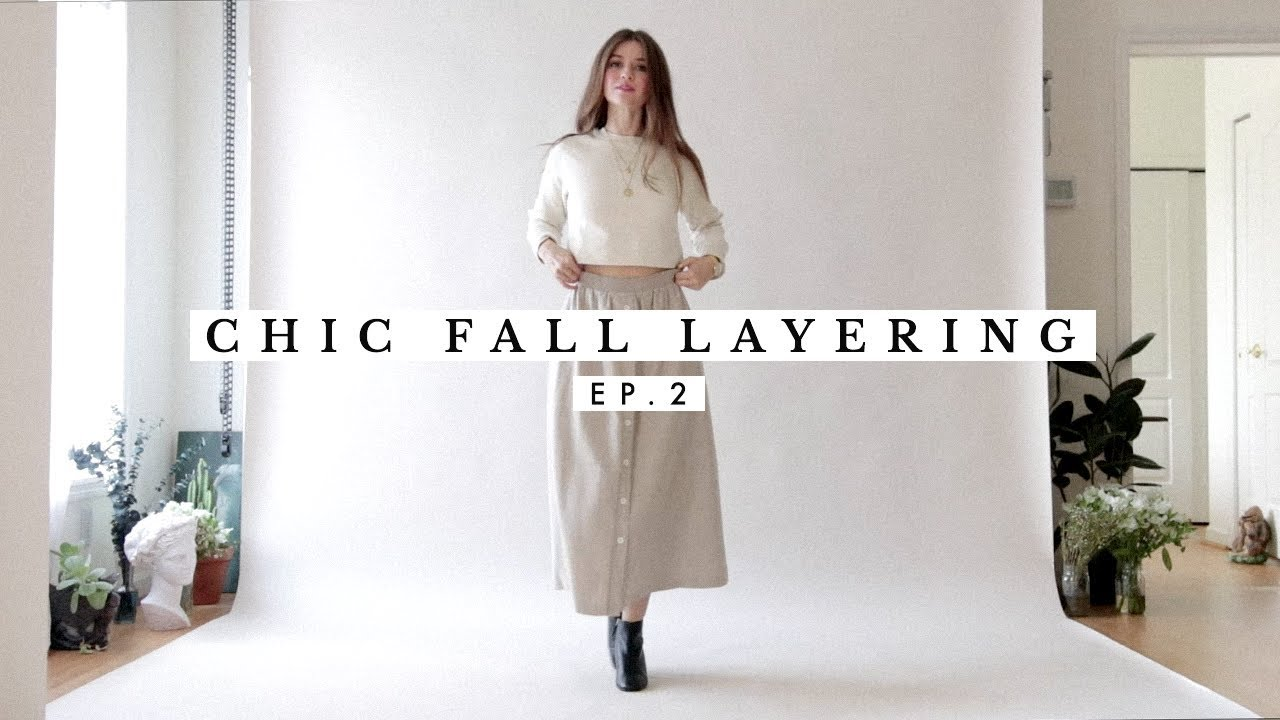 Chic Fall Outfits Layering Ideas Ep. 2 | Dearly Bethany 3