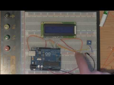 Arduino LCD Tutorial (Liquid Crystal Displays)