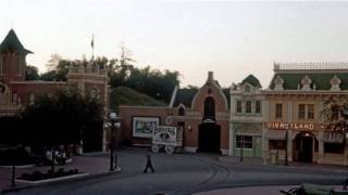 The Original Main Street, USA Area Loop: 1971 - 1992