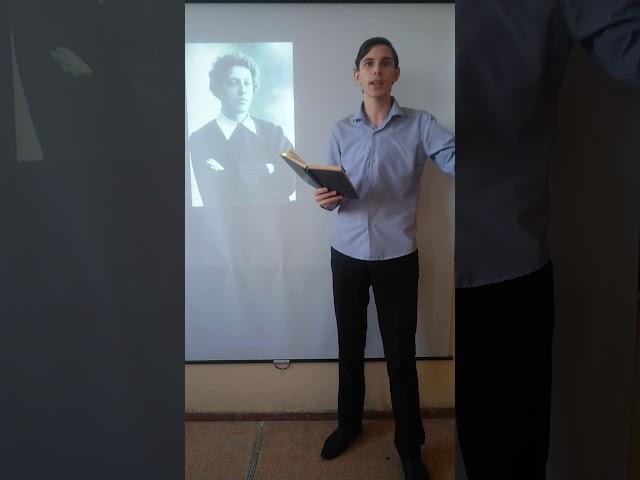 Изображение предпросмотра прочтения – АндрейСтерлигов читает произведение «О, я хочу безумно жить» А.А.Блока