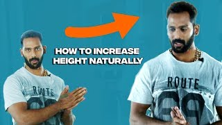 How to increase height Naturally | how to increase height in tamil | Hulk Fitness Studio