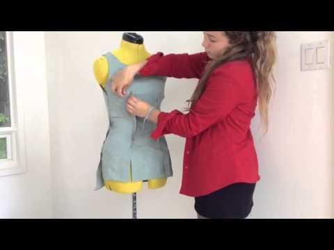 DIY medieval dress (servant's) cosplay/ costume