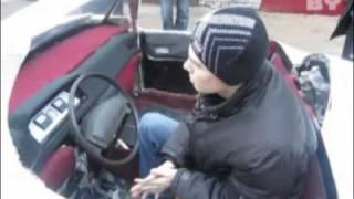Белорусские школьники собрали электромобиль