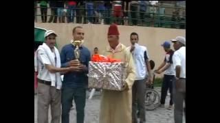 حفل نهاية دوري كرة القدم الذي نظمه المكتب الجهوي للشبكة الوطنية لدعم الحكم الذاتي بالصحراء المغربية