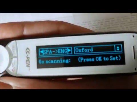 C610D show dictionary mode