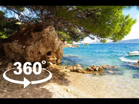 MEDIĆI BEACH — OMIŠ | 360º VR | Pointers Travel