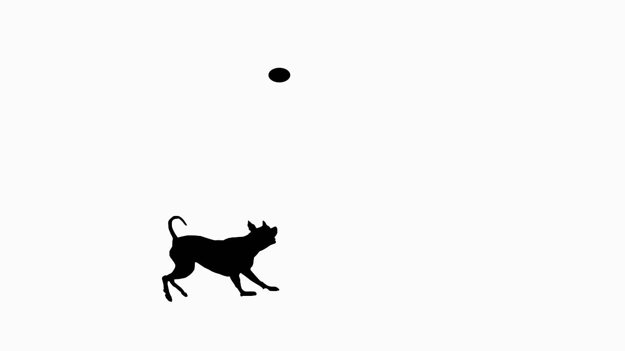 Silhouette of Dog Animation 25 frames per second.mov - YouTube