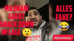 Milonair bei SmackDown💥[] Milonair guckt Smack Down im Cage 🥊[] 📱Instagram Story 📲 [] 16.05.2019