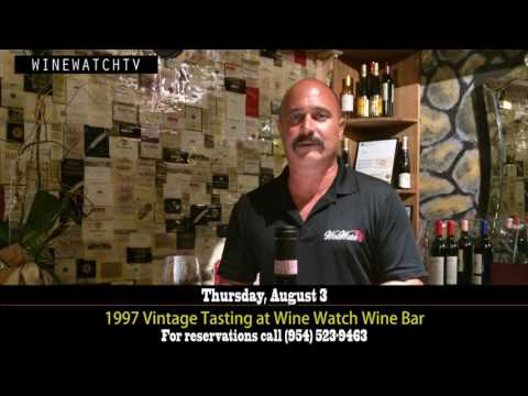 1997 Vintage Tasting at Wine Watch Wine Bar - click image for video