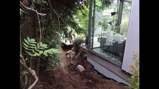 TIMELAPSE #4 - Aménagement d'un jardin d'ombre