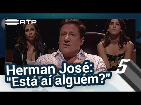 """Pressão no Ar: Herman José - """"Está aí alguém?!"""" - 5 Para a Meia Noite"""
