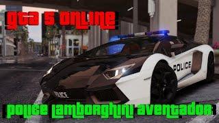 Gta 5 Online Police Lamborghini Aventador  Free Download Deutsch Hd