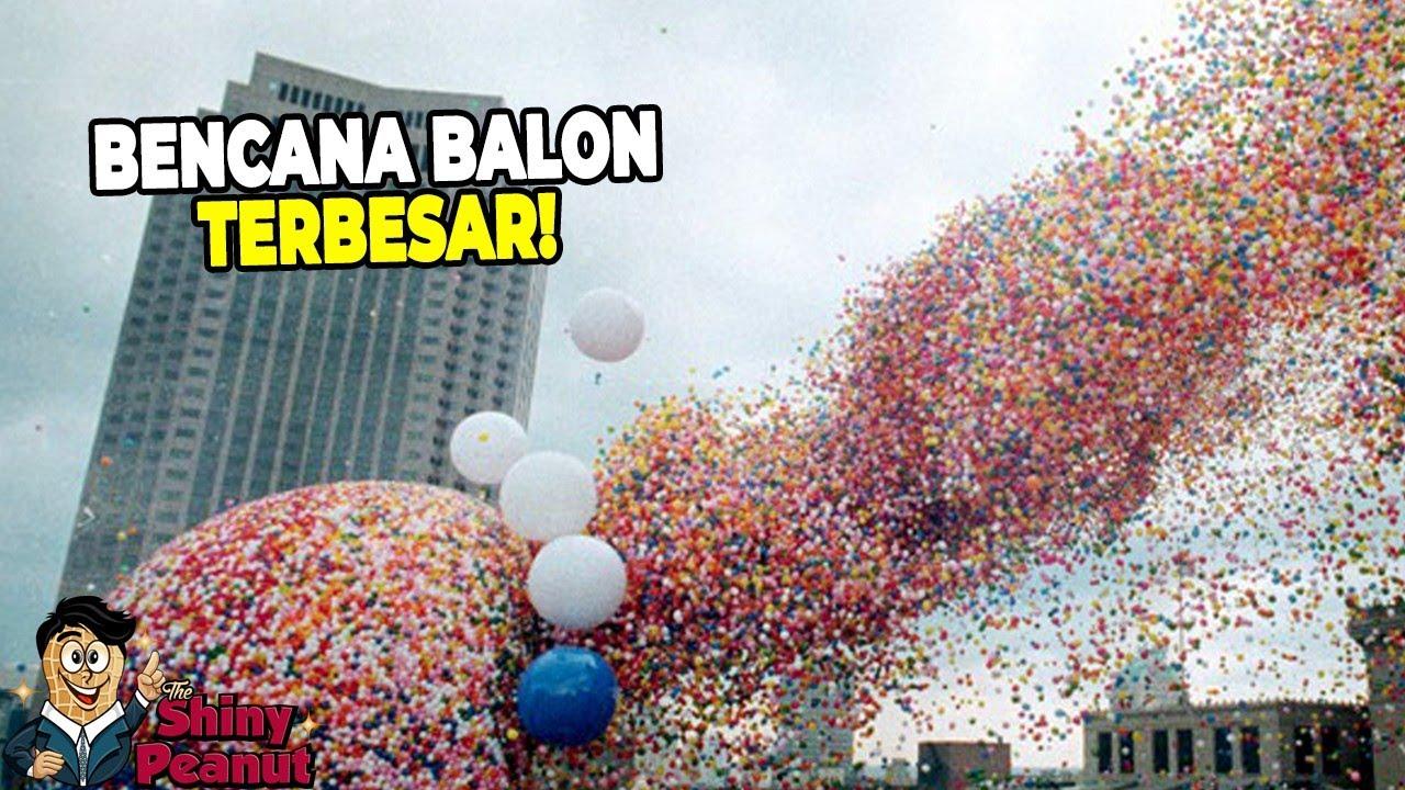 Jangan Sekali-kali Melepaskan 1,5 Juta Balon ke Udara