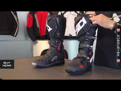 Sidi Crossfire 2 TA Offroad Boots White Black Yellow
