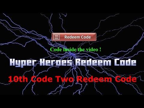 Hyper Heroes 10 Redeem Code (2 Code)