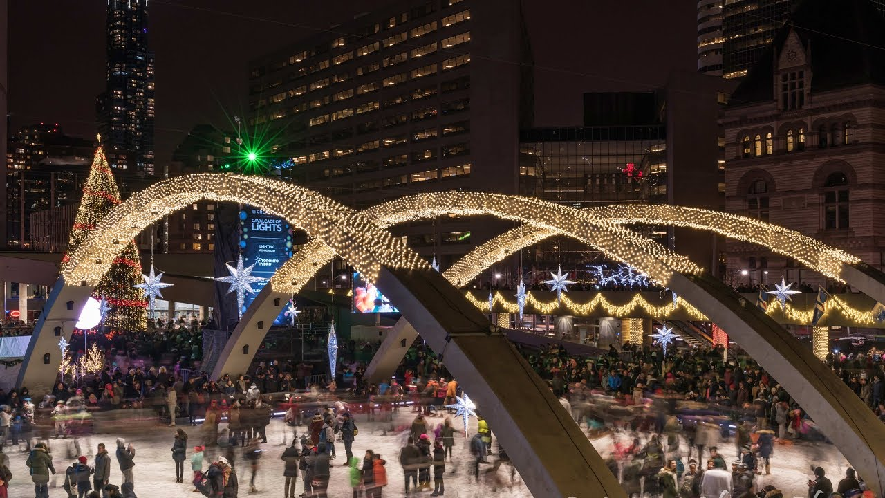 Cavalcade of Lights 2017 Lighting of Christmas Tree Nathan Phillips ...