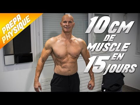 J'AI PRIS 10 CM DE MUSCLE EN 15 JOURS !!!