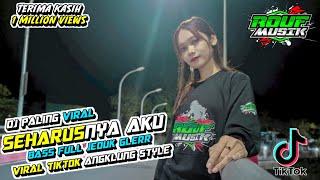 Download DJ SEHARUSNYA AKU GEDRUK STYLE - RIKI VAM 69 PROJECT
