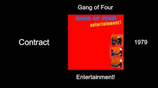 Gang of Four - Contract - Entertainment! [1979]