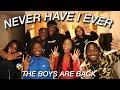 NEVER HAVE I EVER W THE BOYS | RainStewart