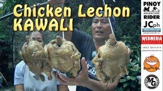 Pinoy CHICKEN LECHON KAWALI cooked at the Backyard ~ Dec.2018