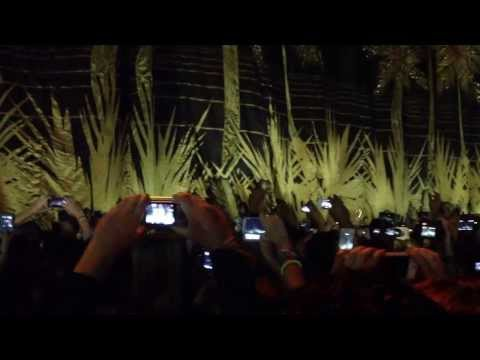 Bruno mars intro moonshine jungle tour Paris-Bercy