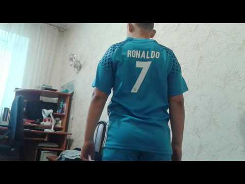 Моя новая футбольная форма RONALDO и гетры синие