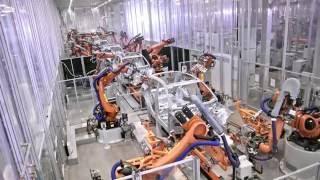 Fábrica da Audi - Produção do Q5 2017