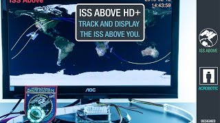 iss above hd with wearable bluetooth low energy leds