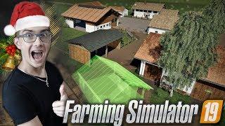 Koniec Budowy Gospodarstwa Tworzymy Mapę W Grze! #2 FS 19 ☆ MafiaSolec