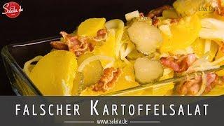 falscher Kartoffelsalat - Low Carb - Rettichsalat - Ideale Beilage zum Grillen - salala.de