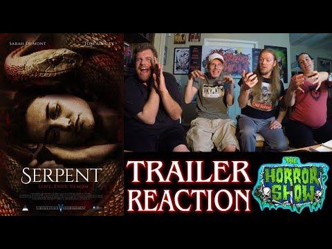 """Serpent"" 2017 Horror Movie Trailer Reaction - The Horror Show"