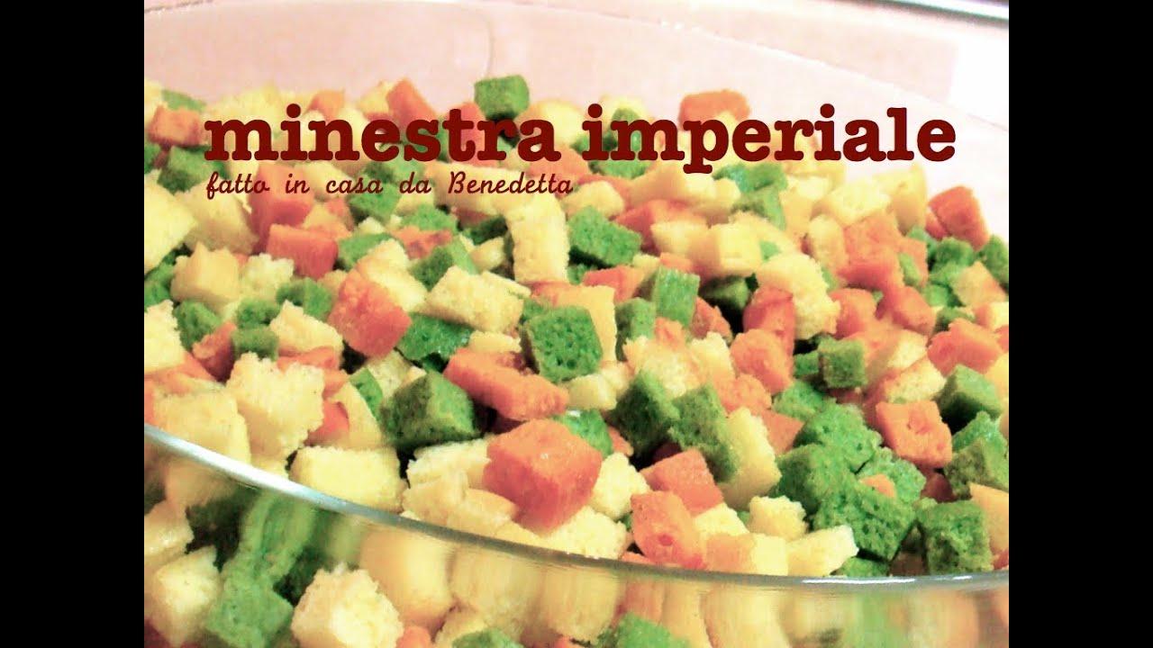 Ricette pasta imperiale in brodo