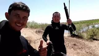 Подводная охота город Кызылорда 2020 открытие сезона