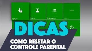 XBOX 360 - COMO RESETAR / DESLIGAR O CONTROLE PARENTAL