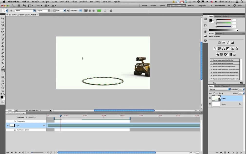 Photoshop CS5 - Video y Animación - Edición de video - YouTube