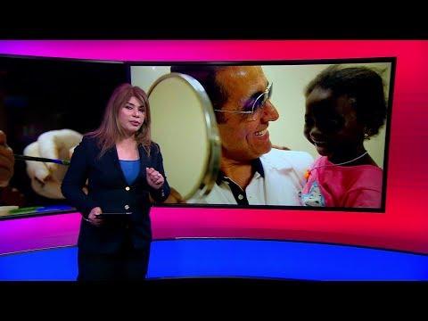 الطفلة اليمنية #يسرا تعود إلى #اليمن بعين اصطناعية جديدة بعد تعافيها من #السرطان  - 18:54-2019 / 7 / 11