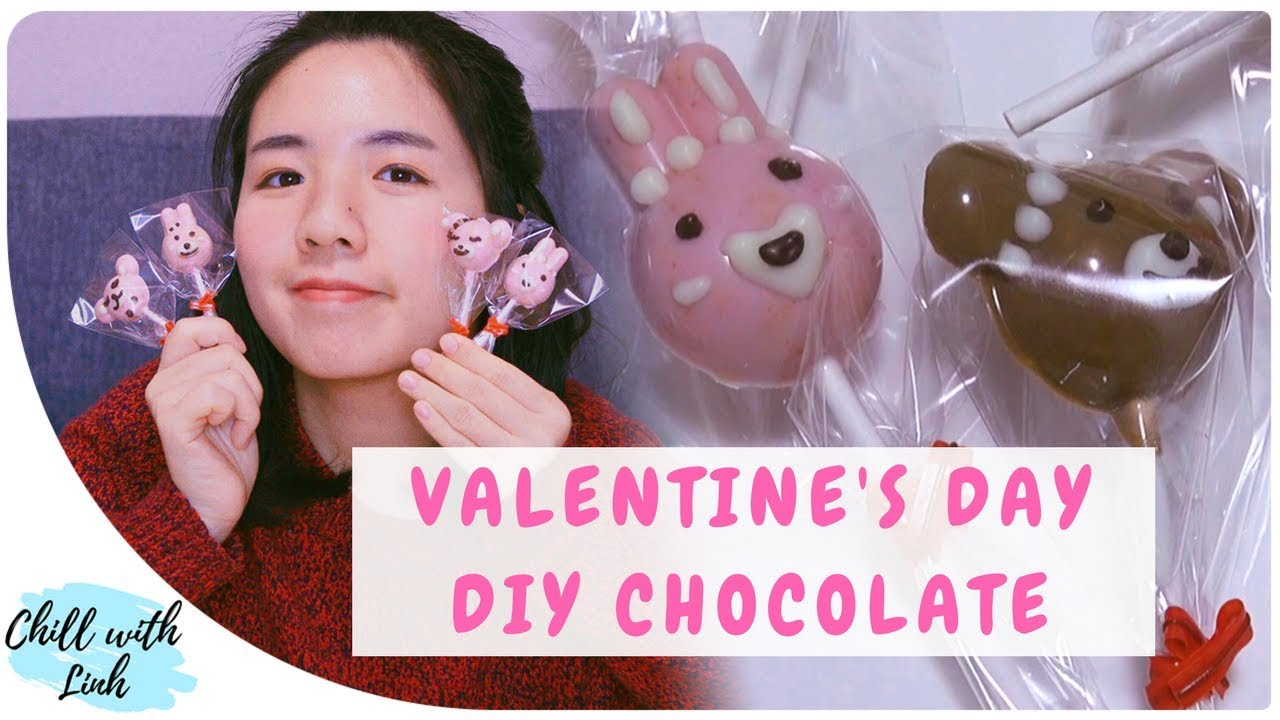 Japanese Valentine S Day Homemade Chocolate Recipe Youtube