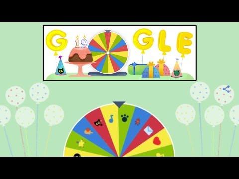 Google Birthday Surprise Spinner Snake Game Gameplay Google Doodle الناشر Publisher