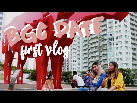FIRST VLOG!! BGC Date
