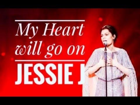 My heart will go on Jessie J Instrumental / Karaoke (Singer 2018 China)
