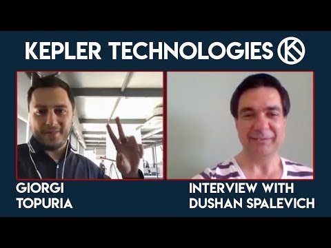 Kepler Technologies Interview with Dushan Spalevich for ICO TV VIDEO