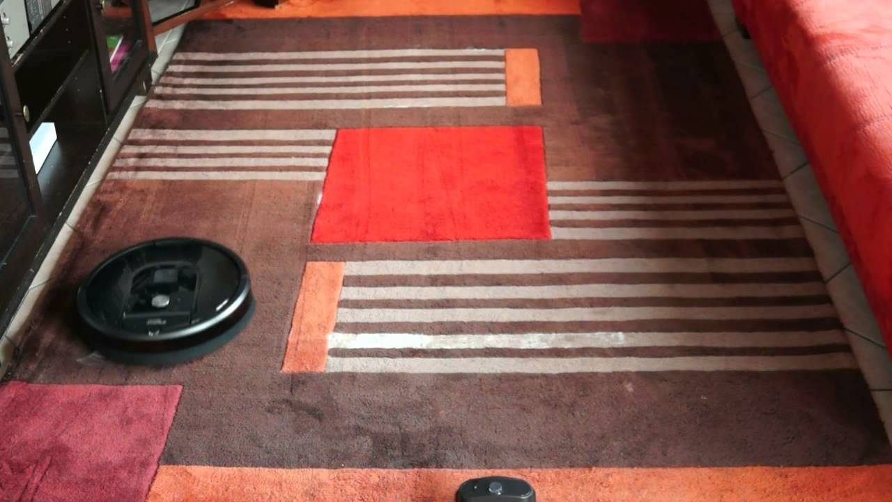 Test Roomba 980 sur moquette / Review on carpet - YouTube