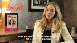 Entrevista exclusiva a AMANDA SEYFRIED de la película LOVELACE - GARGANTA PROFUNDA