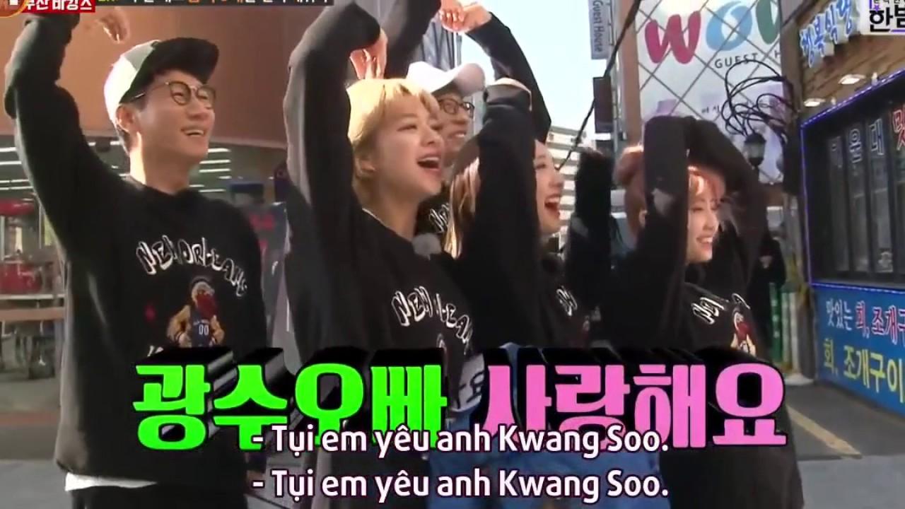 """Running man khoảnh khắc Lee Kwang Soo """"tà lưa"""" bị đổ bởi Twice"""
