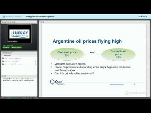 Argentina Energy Elections Webinar