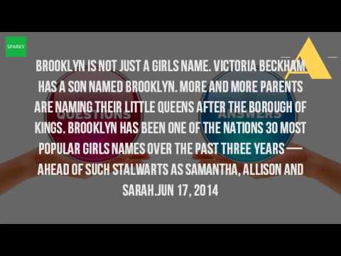 Is Brooklyn A Name?