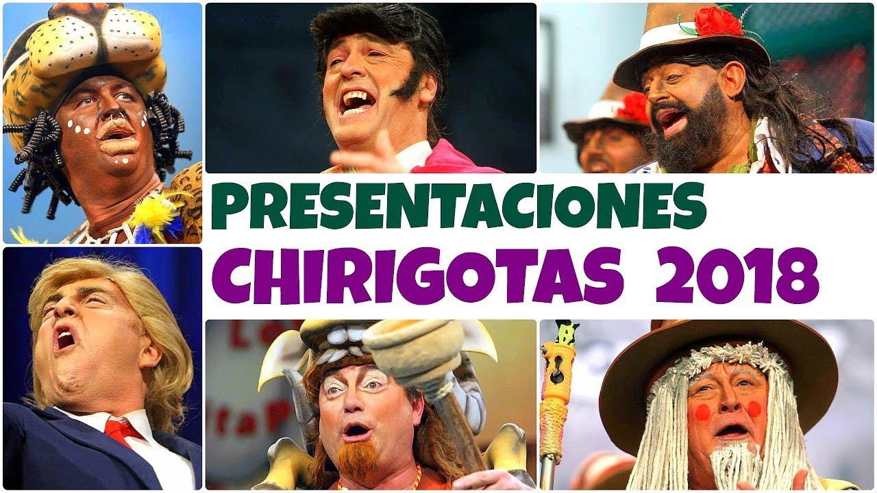 Presentaciones De Chirigotas Del Carnaval De Cádiz 2018 Hd Youtube