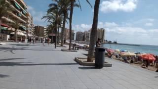 Прогулка по морской набережной. Торревьеха, Испания(Так как в Самаре уже выпал первый снег (и, скорее всего, не только в нашем городе так), предлагаю согреваться..., 2016-10-17T06:00:00.000Z)